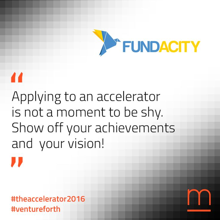 A powerful tool for #growth: Fundacity is connecting #startups with #TheAccelerator2016 Check it out at: http://bit.ly/1UdmHP0