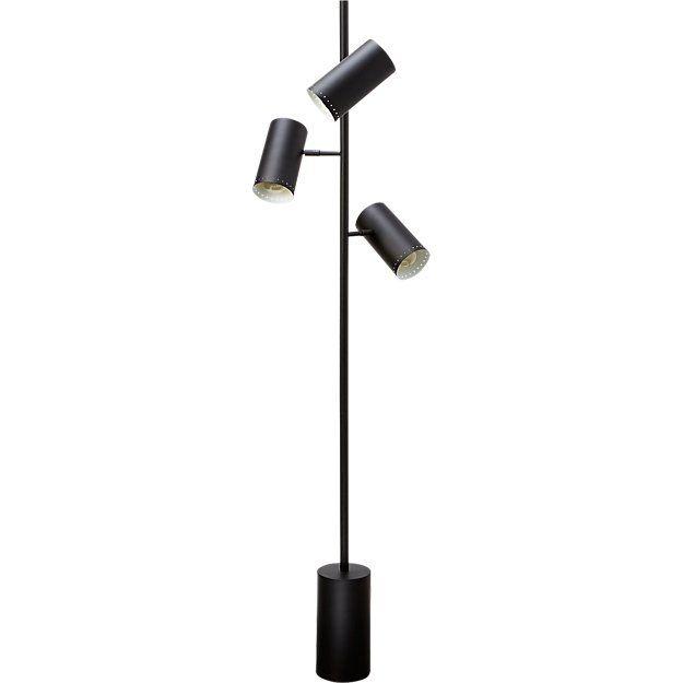 Trio Black Floor Lamp Reviews Black Floor Lamp Nickel Floor