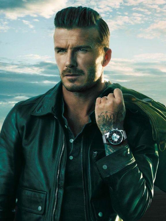 David Beckham and Breitling
