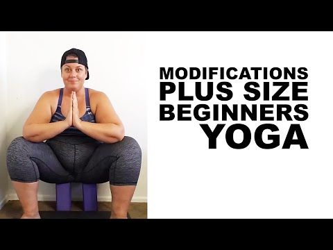 Single Leg Squat Exercise Modification - plus size - workout - episode 3 - YouTube