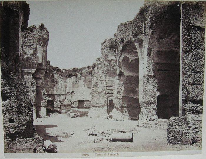 Terme di Caracalla 1880