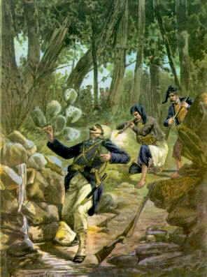 battaglia di morgogliai - tribuna illustrata