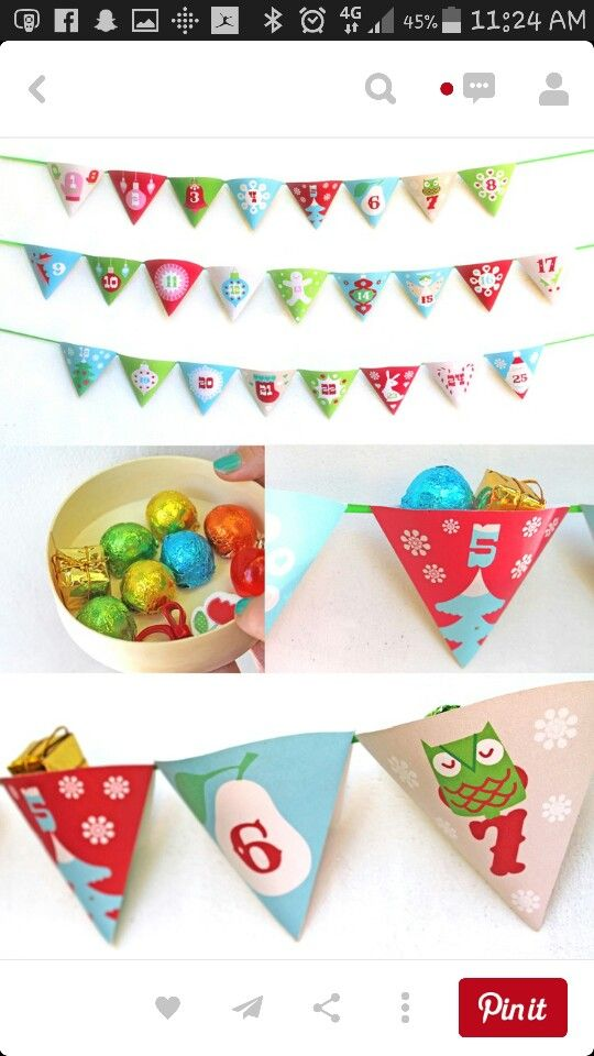 19 best Advent calenders diy images on Pinterest Build your own