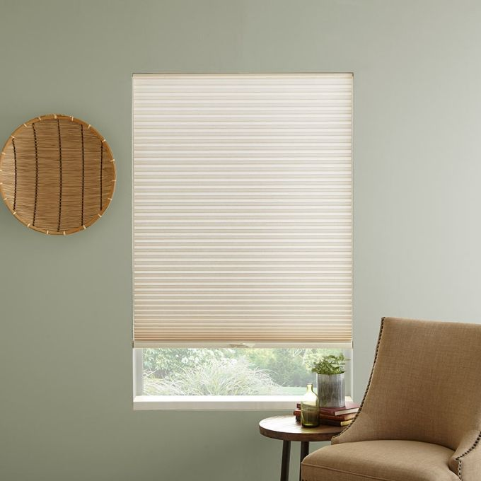 3 4 Single Cell Premium Light Filter Honeycomb Shades Honeycomb Shades Light Filtering Shades Light Filter