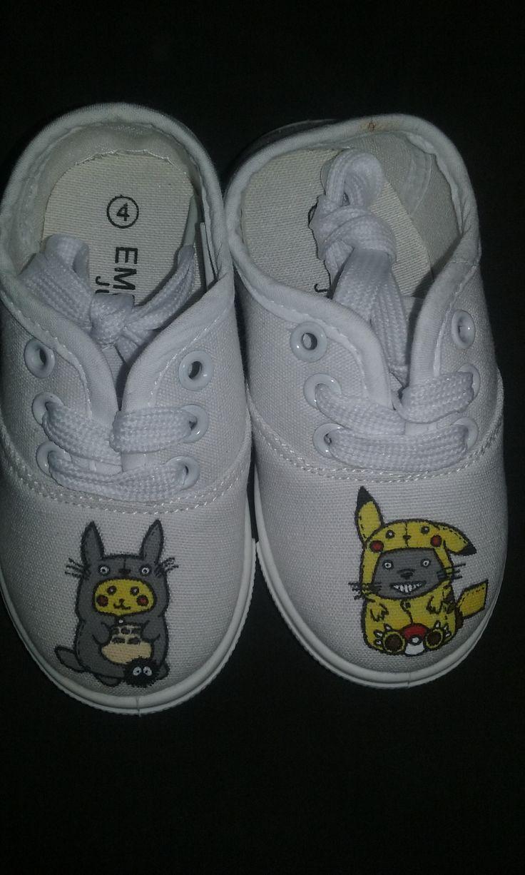 Pikachu and Totoro.