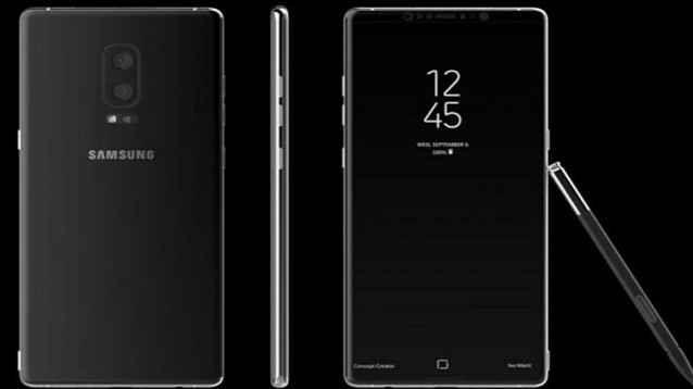 """Galaxy Note 8: con doppia fotocamera posteriore ed audio stereo? A prezzo da """"urlo"""" Come mi è capitato di leggere in molti forum di settore, tranne qualche puro amante dell'estetica, gli utenti della Samsung non si strapperanno i capelli qualora il sensore delle impronte dovesse fin #note8 #samsung #phablet #rumors"""