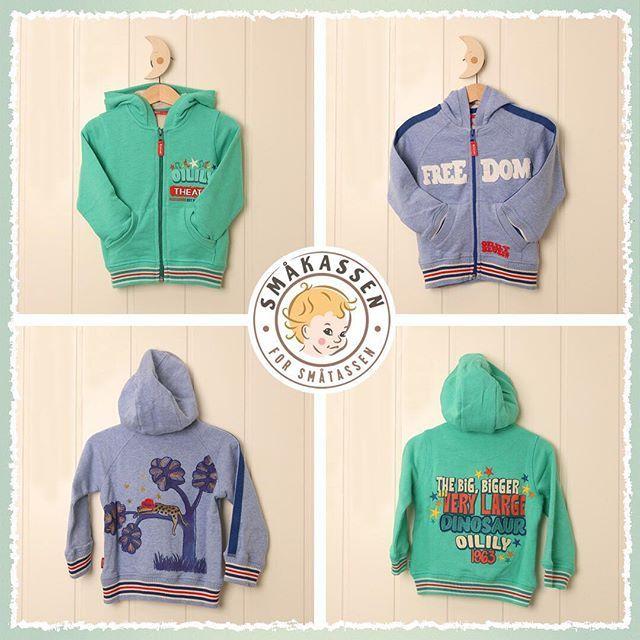 Awesome sweaters from Oilily such as these can also be fund in your Småkassen  . . . #barneklær #gutteklær #jenteklær #babyklær #abonnement #personalshoper #småkassen #oilily @oilily_kids