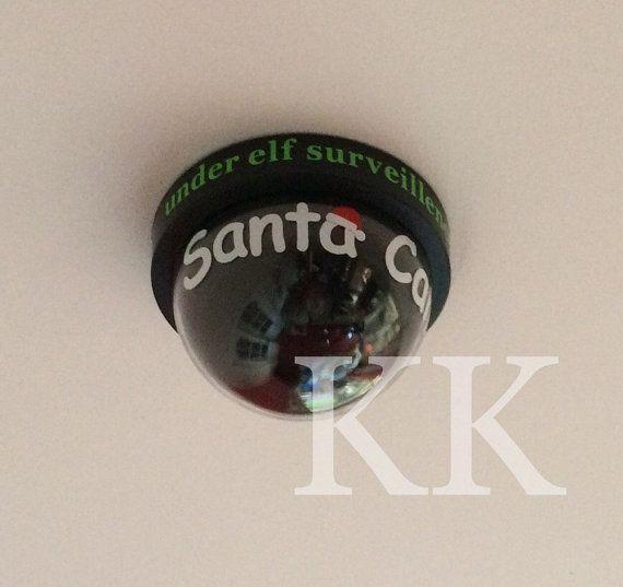 Flashing Santa Cam-santa cam-santa by KeeraKeepsakes on Etsy