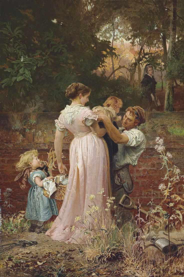 """Marcus Stone (1840-1921) - """"My lady is a widow and childless"""" by Cantata per un Sogno"""
