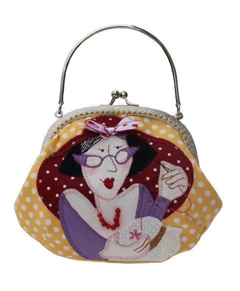 LOVE TO SEW PURSE with handles by Bronwyn Hayes designer for Red Brolly, via Flickr