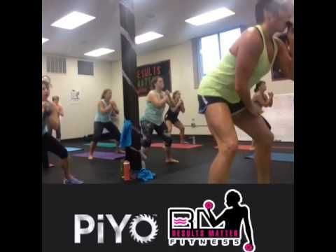 Live piyo class at my studio Results matter fitness   www.resultsmatterfitness,com