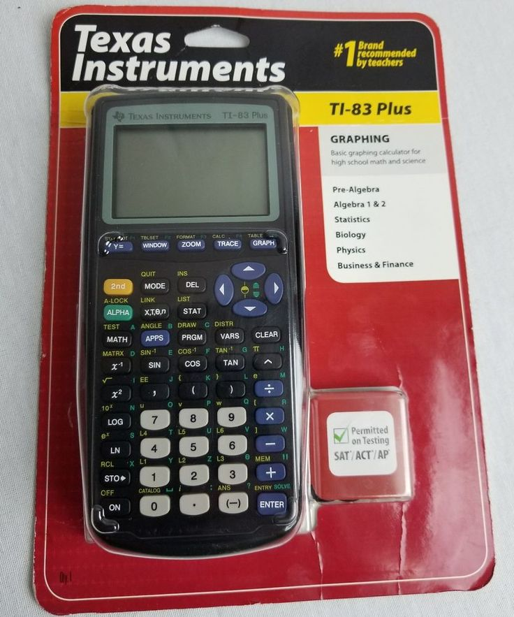 Texas Instruments TI-83 Plus Graphing Calculator Algebra 1&2 | Consumer Electronics, Gadgets & Other Electronics, Calculators | eBay!