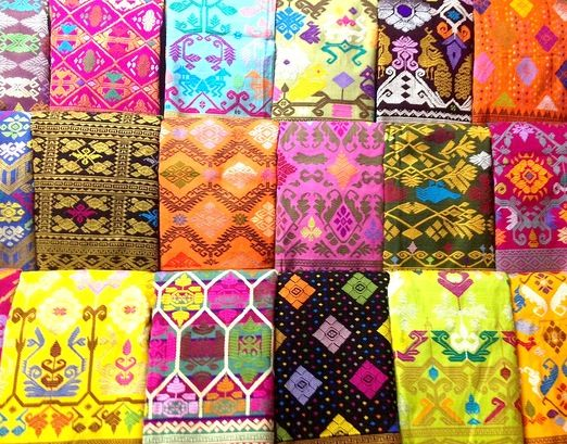 Balinese songket: Songket belongs to the brocade family and is distinguished by its use of gold or silver thread, giving...