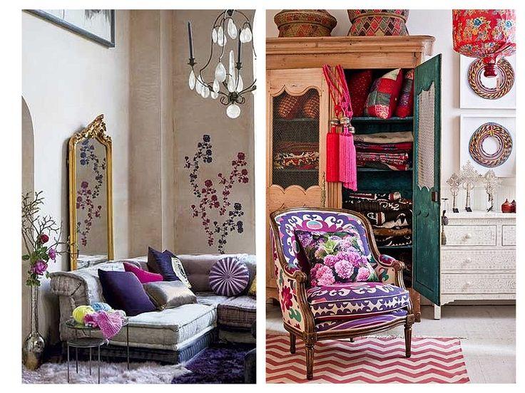 Los colores son un gran complemento para esta decoración porque aportan vitalidad a tus espacios.