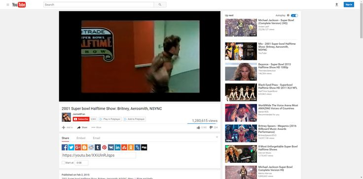 2001 Super bowl Halftime Show: Britney, Aerosmith, NSYNC - YouTube