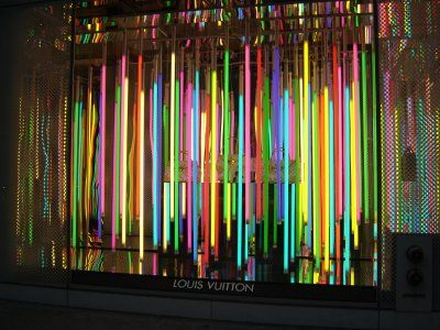 dan flavin florescent tube lighting