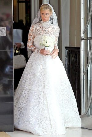 """Nicky Hilton said """"I do"""" to James Rothschild on July 10 -- see a photo of her wedding dress, sister Paris Hilton's bridesmaid look, and more"""