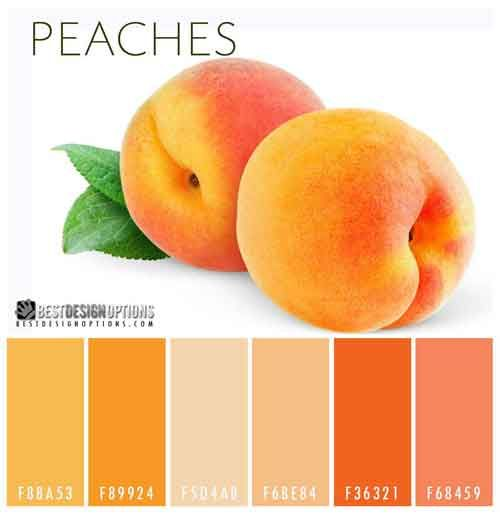 10 Bright Color Palettes Inspired by Delicious Fruits