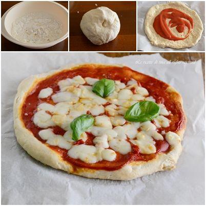 Pizza senza lievito,un impasto velocissimo e gustoso