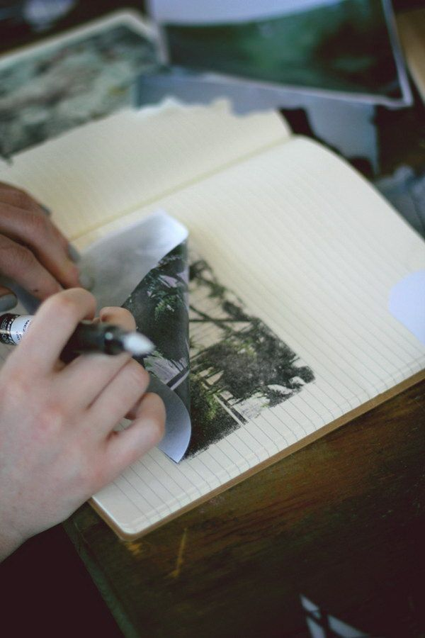 Instant Photo Transfers With Blender Pens. It looks like so much fun and you can be so creative with this little gadget!