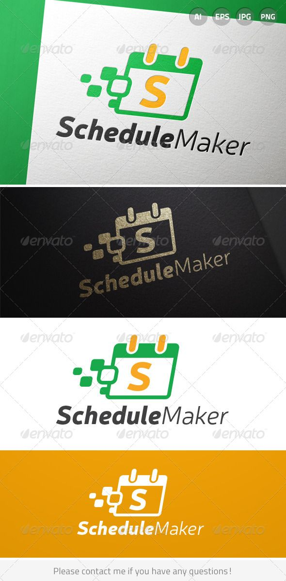 schedule grid maker