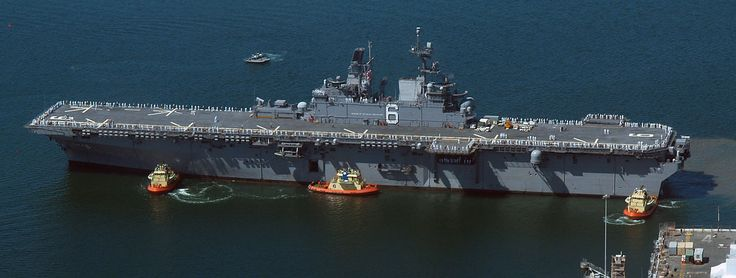 USS America (LHA-6) The typical aircraft complement is expected to be 12 MV-22B transports, six STOVL F-35B attack aircraft, four CH-53K heavy transport helicopters, seven AH-1Z/UH-1Y attack helicopters and two Navy MH-60S for air-sea rescue. The exact makeup of the ship's aircraft complement will vary according to the mission. America can carry 20 F-35B and 2 MH-60S[10] to serve as a small aircraft carrier as demonstrated by LHD operations in Operation Iraqi Freedom.