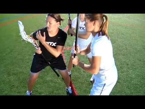 STX Women's Lacrosse - How to handle a double team with Jen Adam