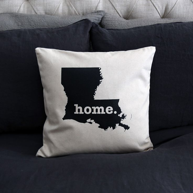 The Louisiana Home Pillow is the perfect way to show off your state pride in your home, while also helping to raise money for multiple sclerosis research.This elegant 22 x 22 pillow is made out of a high-quality fabric that is extremely versatile. You