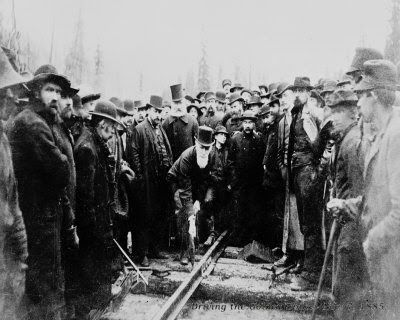 The Last Spike - Canadian Pacific Railway