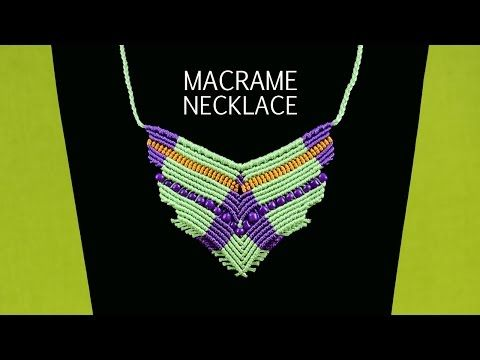 ▶ Flying Bird Necklace Tutorial - YouTube