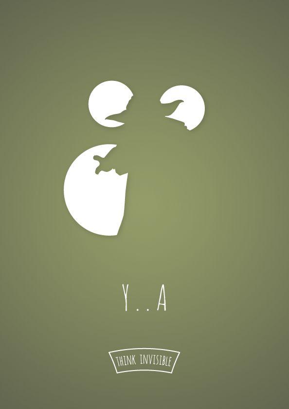 Y..A: Mark Szulyovszki, Negative Spaces, Invi Poster, Invisible, Spaces Poster, Stars War, Pense Invisível, Blog Design, Adri Bodor