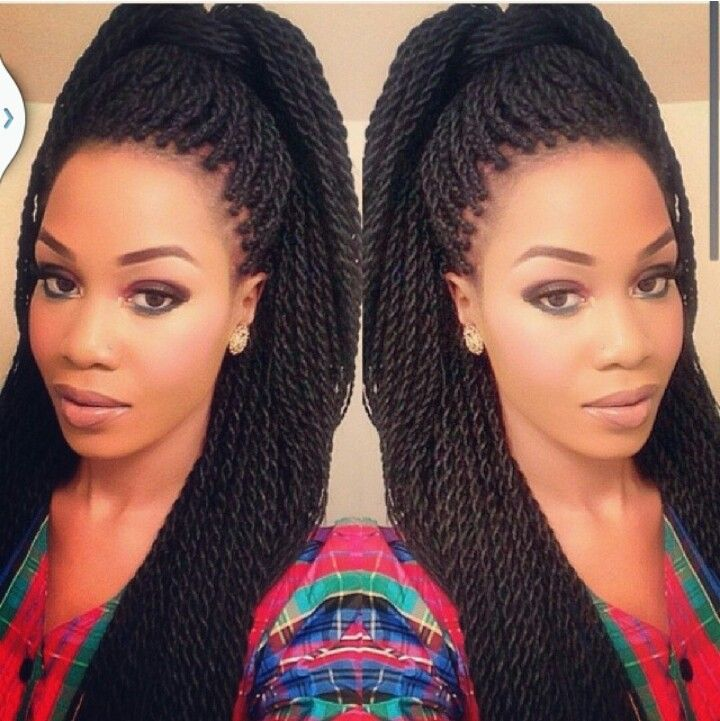Senegalese twist OH: @thenaturalista