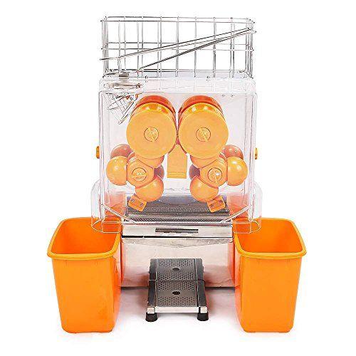 VEVOR Extracteur De Jus Jus Centrifugeuse Commerciale Électrique Presse-Fruit Orange Squeezer Orange Juicer Juice Extractor Machine…