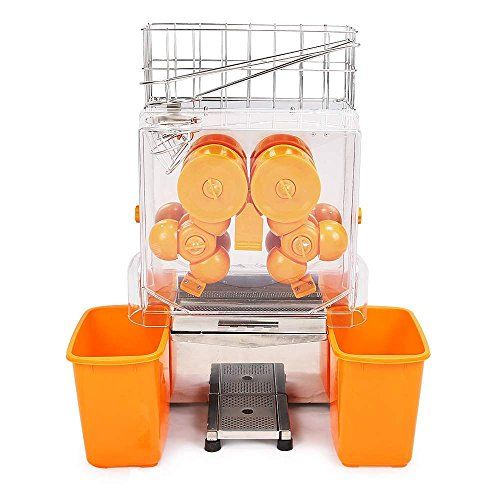 VEVOR Extracteur De Jus Jus Centrifugeuse Commerciale Électrique Presse-Fruit Orange Squeezer Orange Juicer Juice Extractor Machine…
