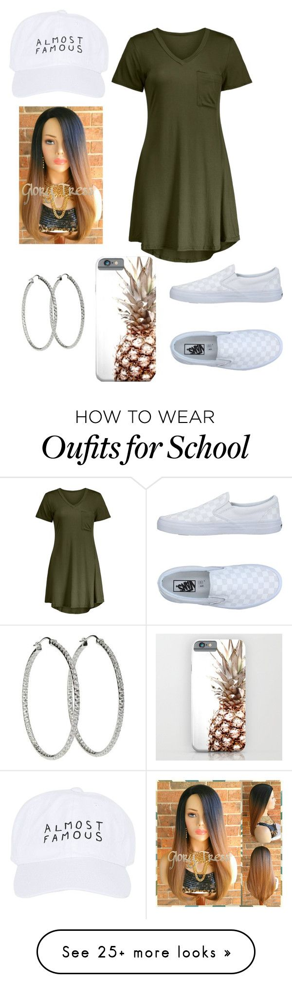 """School Day"" by jazzy-graham on Polyvore featuring Vans and Nasaseasons"