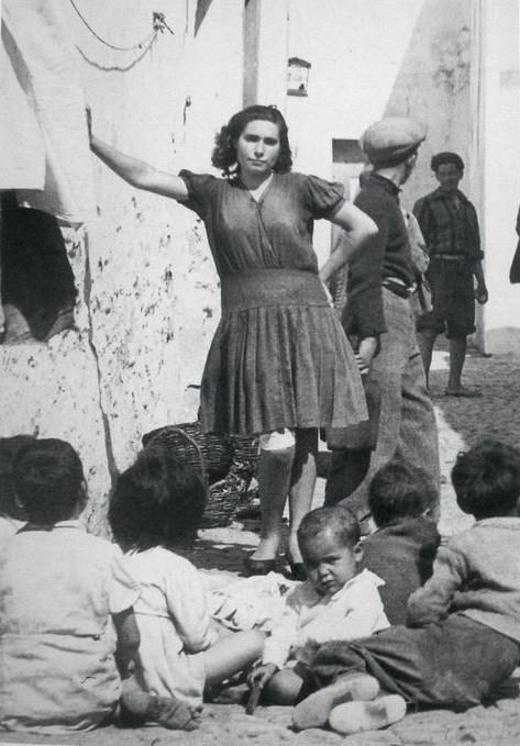 Bairro da Barreta- Olhão 1950