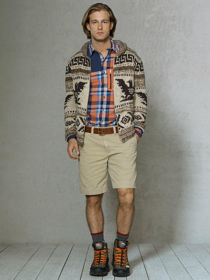Intarsia Cowichan Sweater RalphLauren