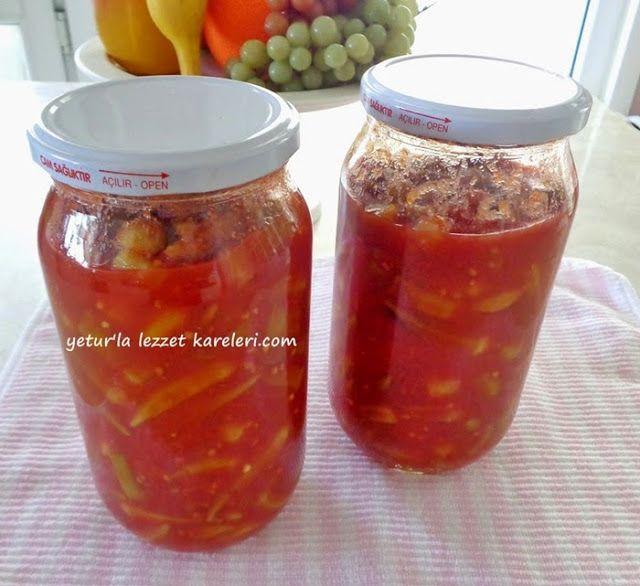 Yetur'la lezzet kareleri.com: kışlık konserveler ve hazır yemek konservesi