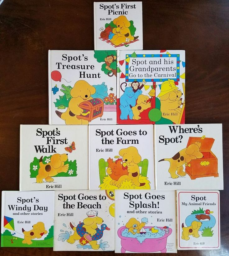 Lot 10 Spot the Yellow Puppy Dog Lift-a-Flap Picture Books by Eric Hill