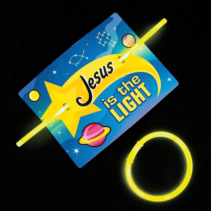 God's+Galaxy+VBS+Glow+Handouts+with+Card+-+OrientalTrading.com