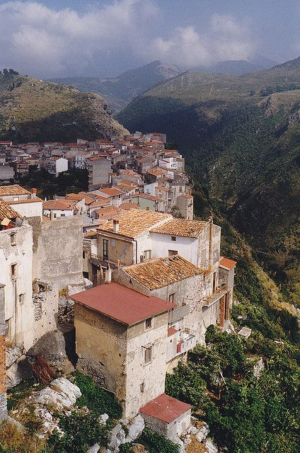 Calabria, Italy. My great-great grandfather hailed from this reggione!