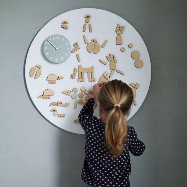 Ta.Ta. Unconventional Design For Kids: OROLOGIO PER GIOCARE