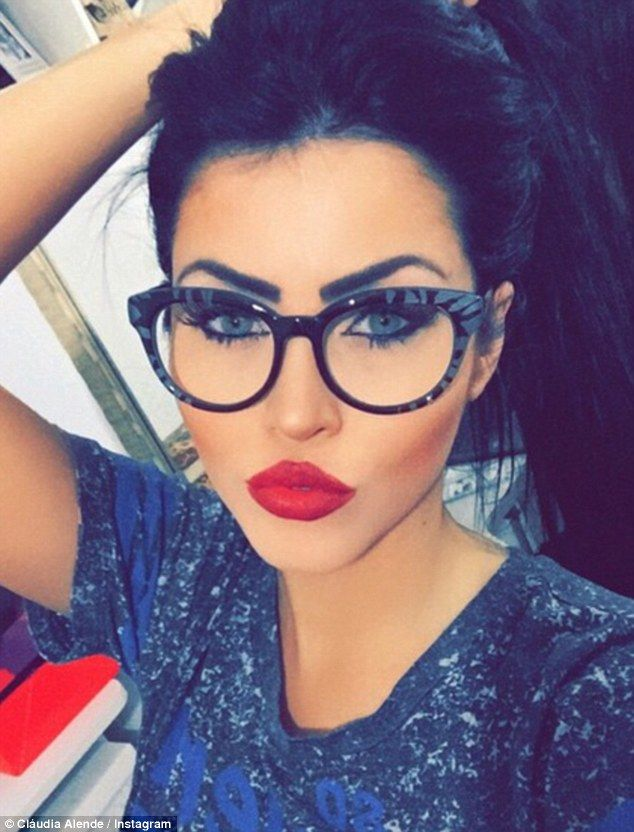 Stealing her thunder: One Instagram fan said Claudia is 'even better than Megan Fox'...