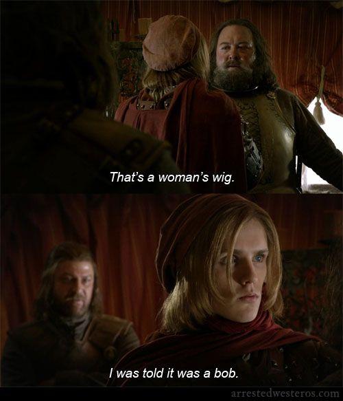 Arrested Westeros = Game of Thrones + Arrested Development