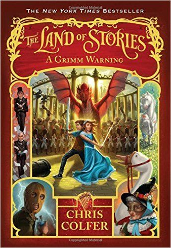 The Land of Stories: A Grimm Warning: Chris Colfer: 9780316406826: Amazon.com: Books