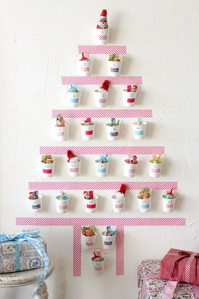 Washi Tape Advent Calendar. Gorgeous!