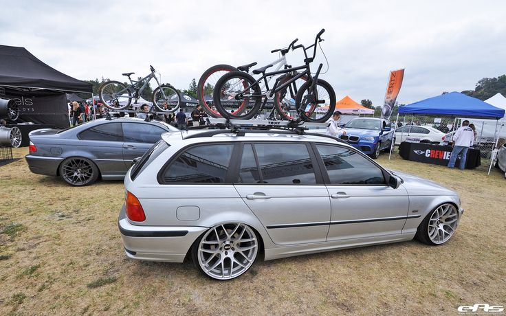 Slammed+BMW+Wagon  