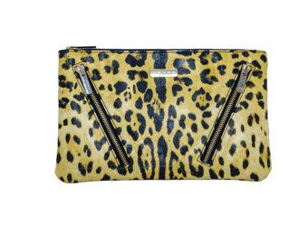 Leopard leather clutch - Edit Listing - Etsy