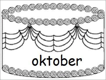 * De maanden! 10-12
