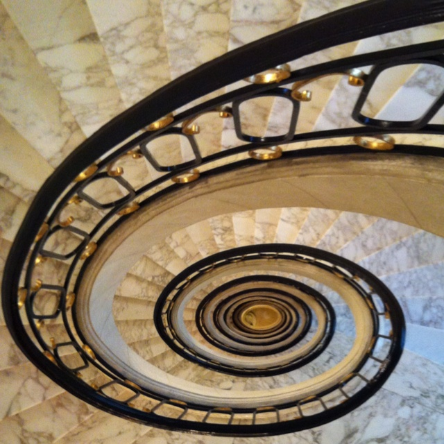 Stairwell of the Alvear Palace Hotel in Buenos Aires
